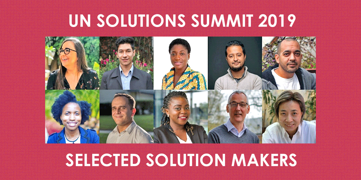 Selected Social Innovators for UNGA 2019